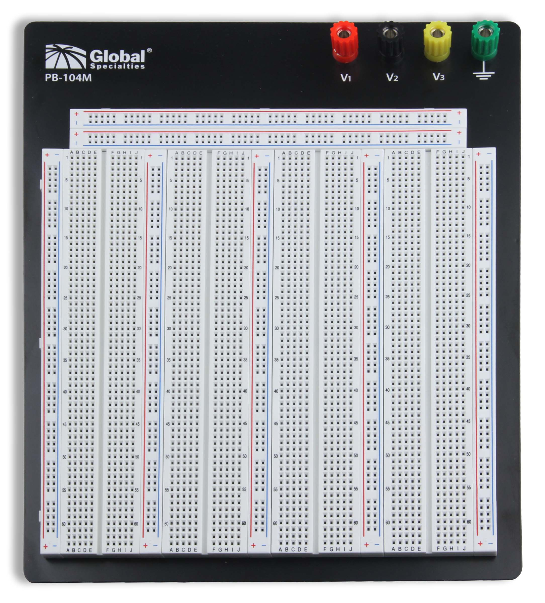 Global Specialties PB-104M Externally Powered 3220 Tie-Point Breadboard Photo