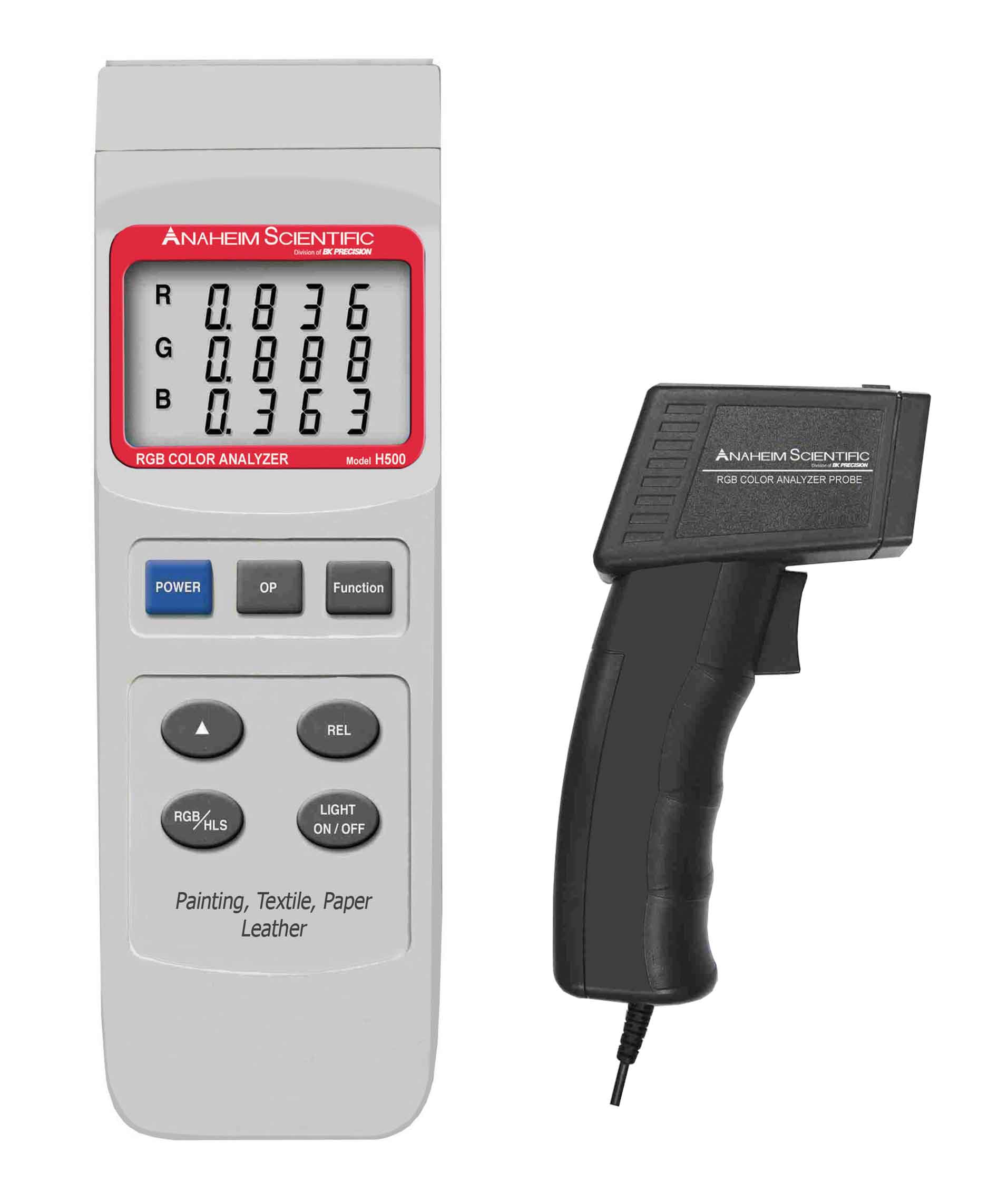 Global Specialties H500 RGB Color Analyzer Photo