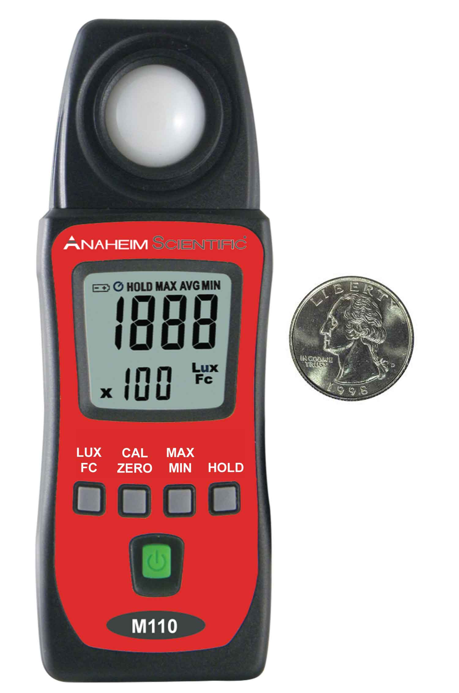 Global Specialties M110 Mini Light Meter Photo