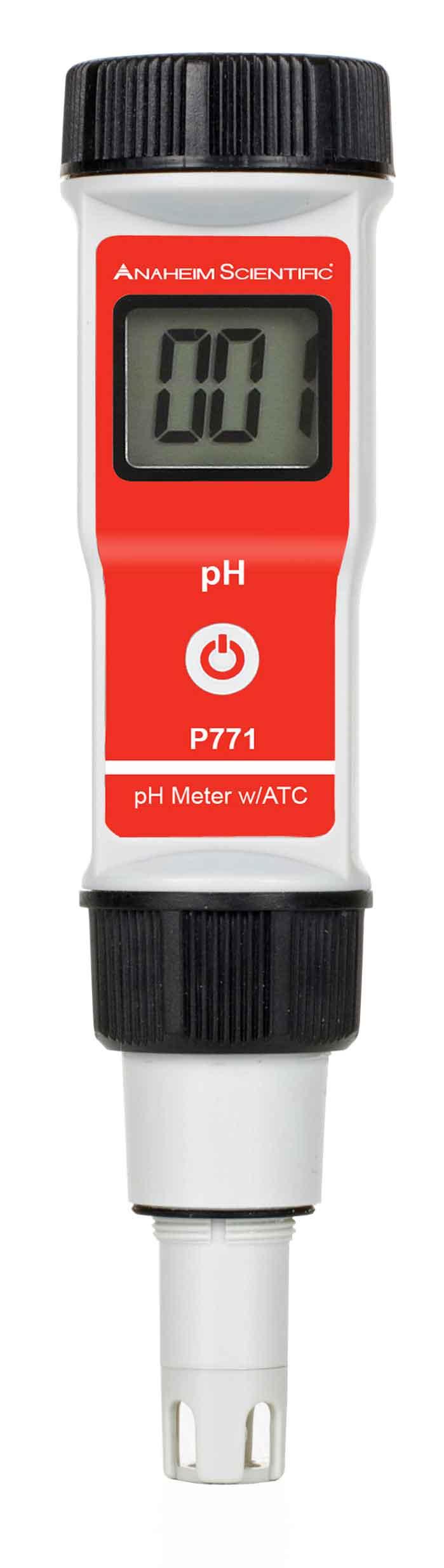 Global Specialties P771 pH Meter with ATC Photo