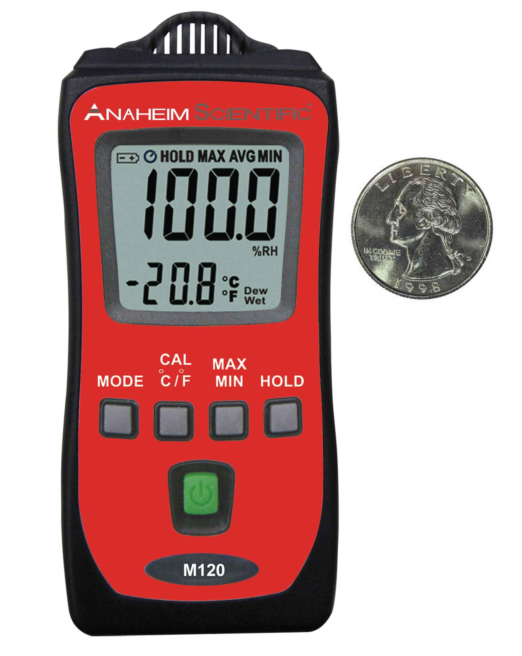Global Specialties M120 Mini Temperature/Humidity Meter Photo