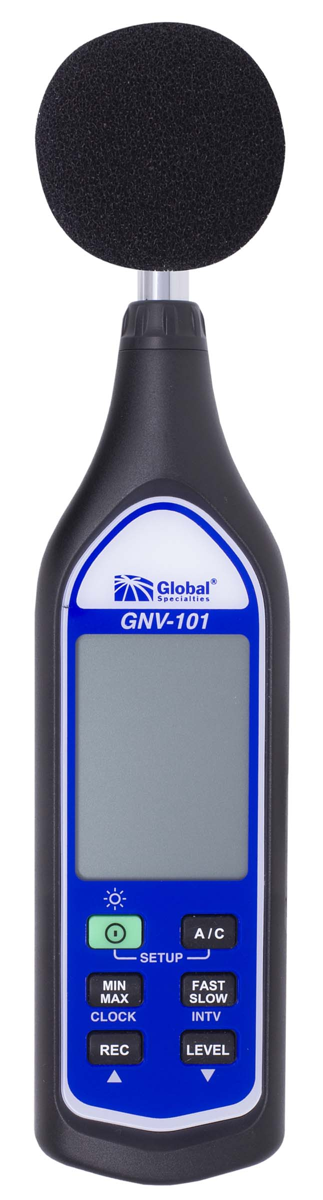 Global Specialties GNV-101 Sound Level Meter w/Data Logging, Class 2 Photo