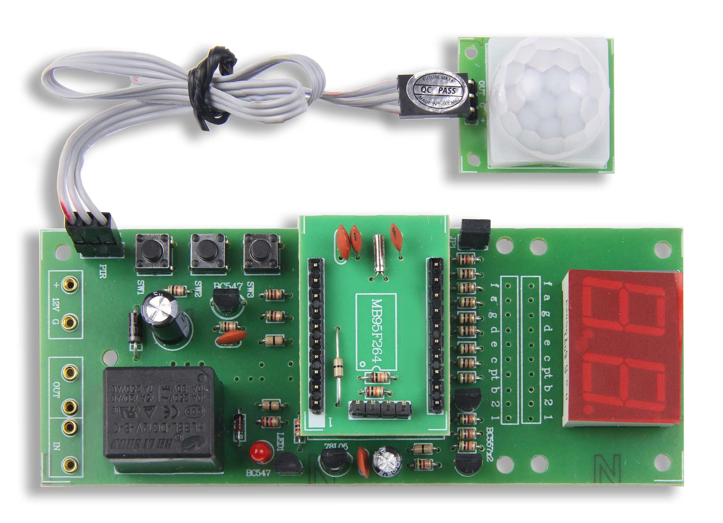GSK-519: PIR Motion Sensor w/ Timer