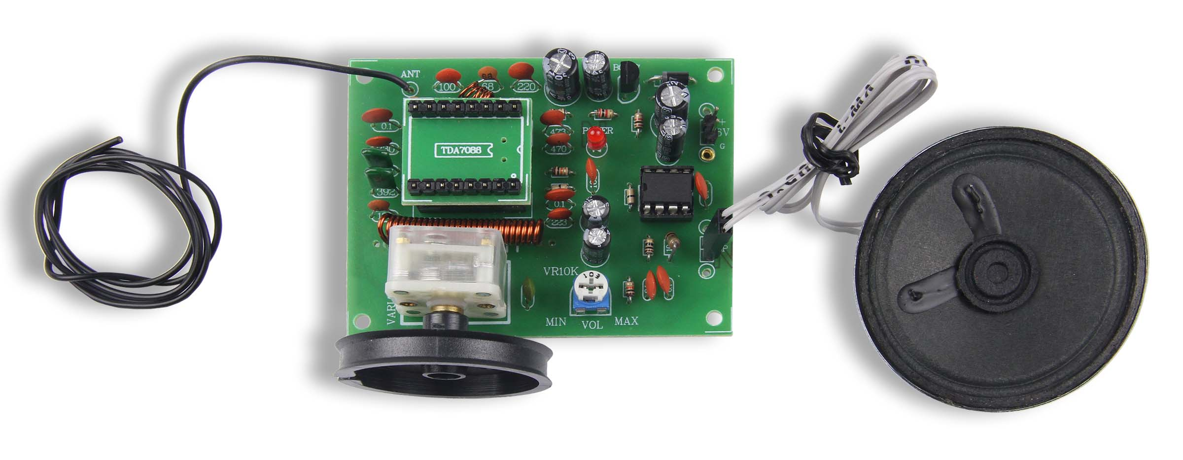 GSK-715: FM Radio Kit