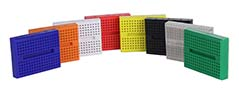 Global Specialties GS-170 Colored Mini Breadboards Photo